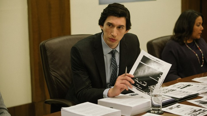In the film, 'The Report,' Adam Driver played Daniel Jones who led an investigation into the CIA's detention and interrogation programs after 9/11.