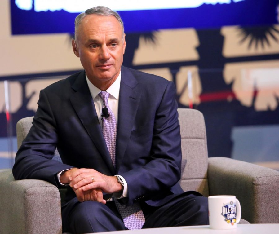 MLB Commisioner Rob Manfred supports the MLB's new rule proposal.