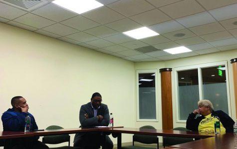 Activist talk focuses on community