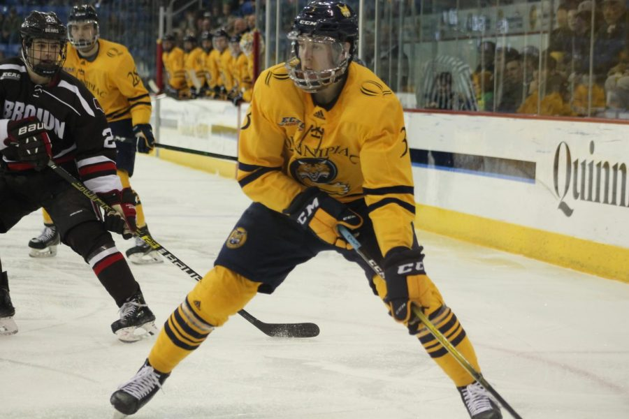 Quinnipiac clinches first-round bye with a 2-1 win over Brown