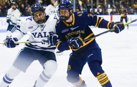 Quinnipiac wins Game 1 of the Battle of Whitney Ave.