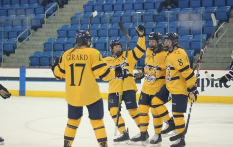 Quinnipiac stomps Union 6-2 at home