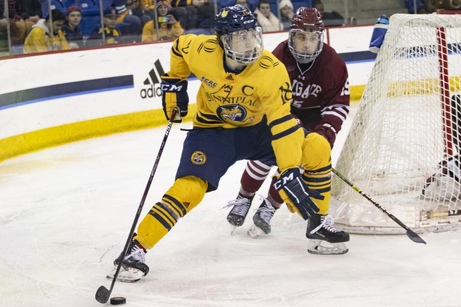 Quinnipiac defeats Colgate, finishes weekend undefeated