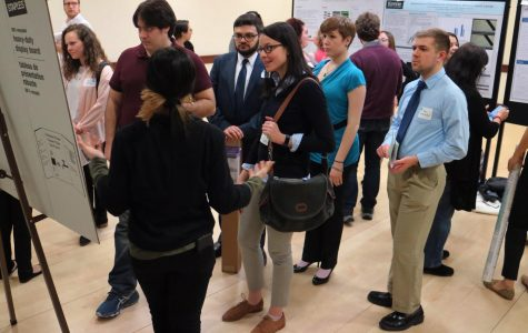 Students from over 30 universities across New England presented their research at the conference.