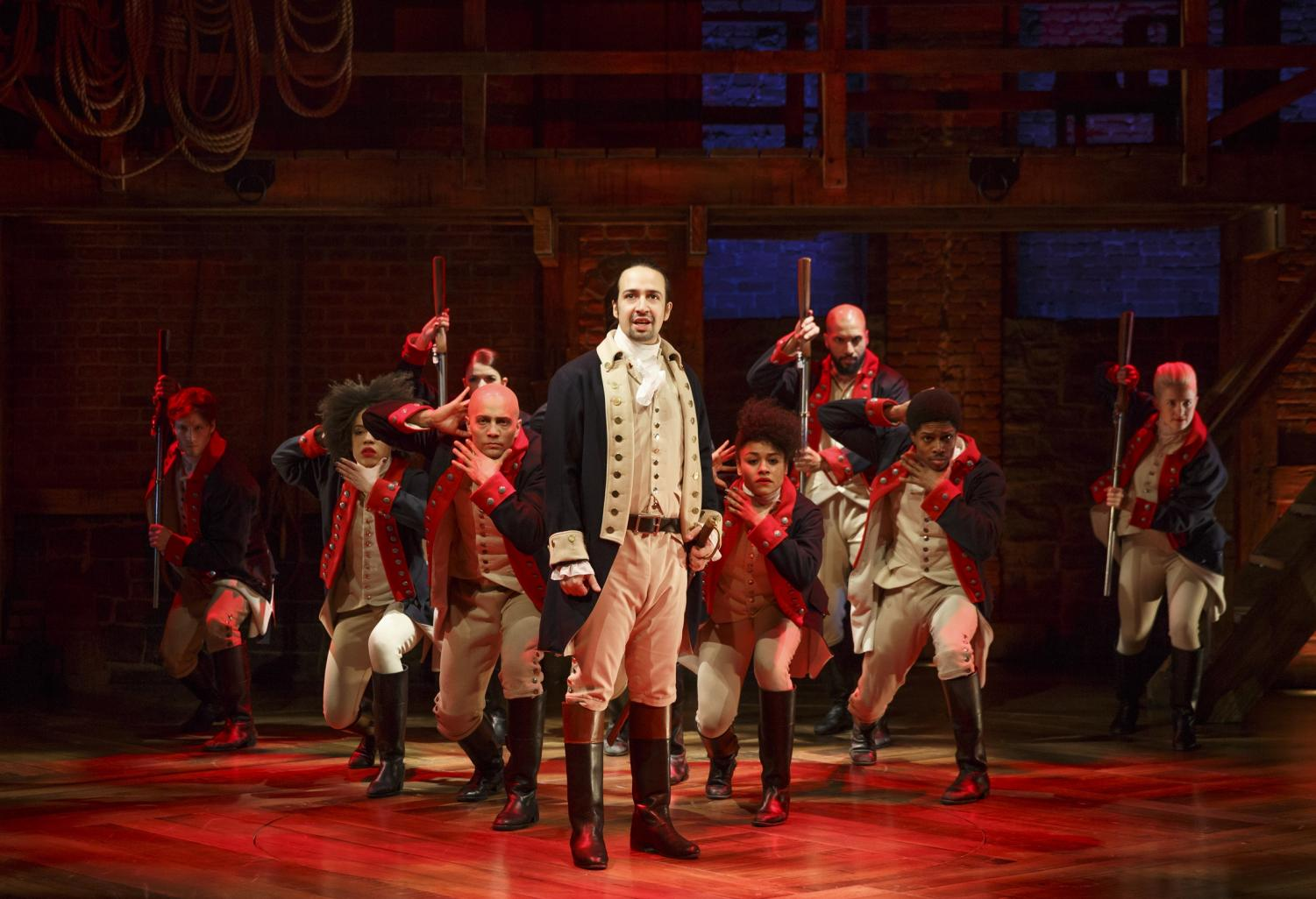 The 'Hamilton' film will feature the original Broadway cast, with creator, Lin-Manuel Miranda, playing the role of Alexander Hamilton.