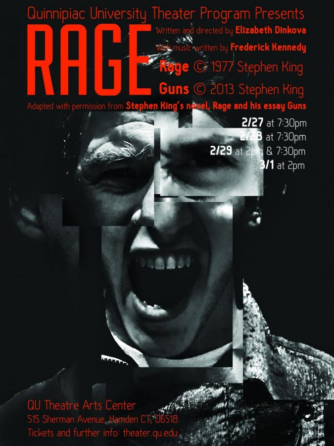 This is version 16 of the playbill for 'Rage,' with the final version still in the works.