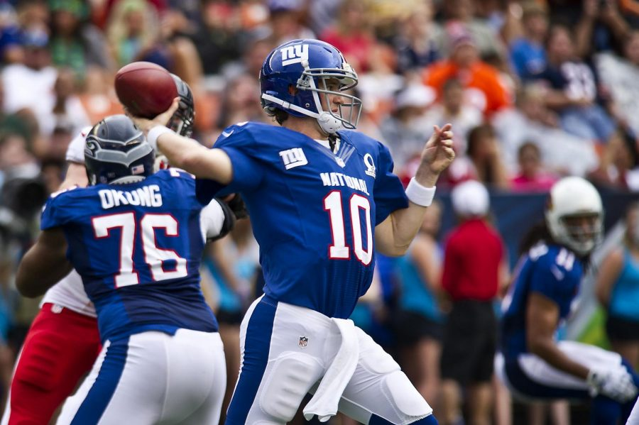 Eli Manning has only been invited to four Pro Bowls in his 16 year career.