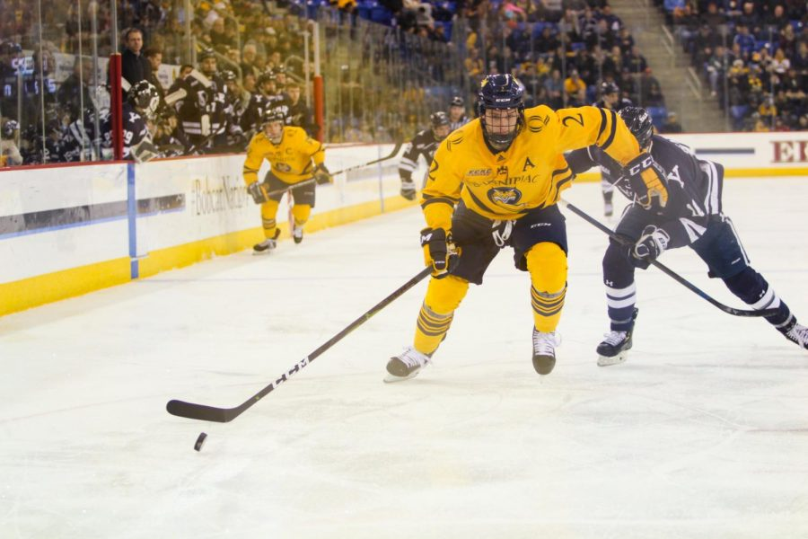 The Quinnipiac men's ice hockey season came to a sudden cancellation last week due to COVID-9.