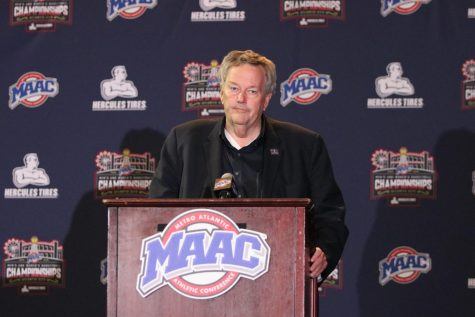 Basketball press conference gives team outlooks on next season