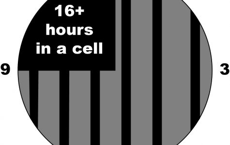 Prisoners in solitary in Conn. can spend over 16 hours chained up and alone in a cell.