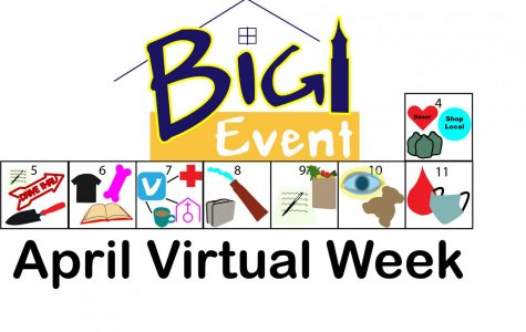The Big Event's virtual week went from April 4 to April 11, encouraging the QU community to give back.