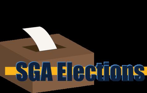 Students run for executive board for SGA