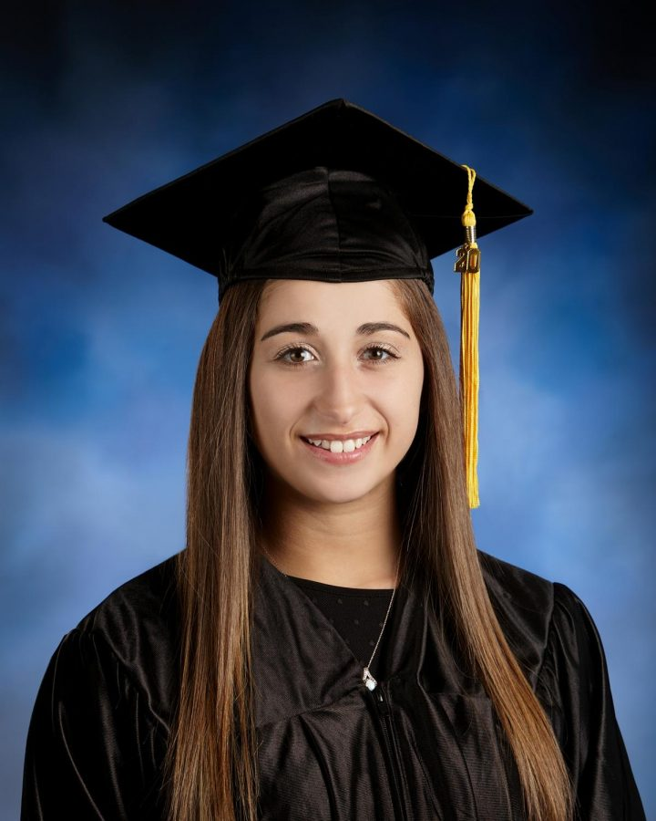 Nicole Pestana, a class of 2020 international business major is a first-generation college graduate.