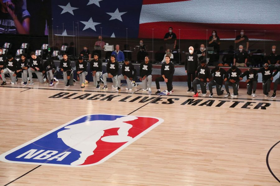 The NBA and its players have been instrumental in keeping Black Lives Matter in the spotlight.