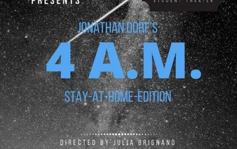 Photo Contributed by Fourth Wall Jonathan Dorf's '4 A.M.' was adapted by Quinnipiac University's Fourth Wall Student Theater to be a virtual production.