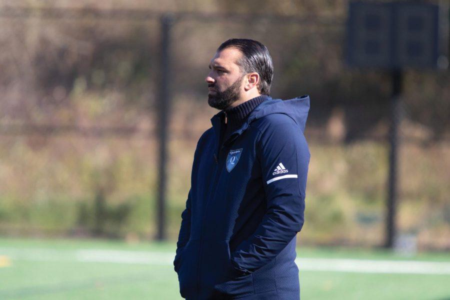 Eric Da Costa is the longest tenured coach in Quinnipiac men's soccer history.