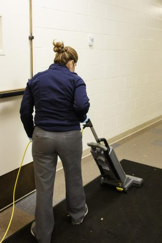 Facilities managers were trained in how to properly clean during a pandemic.