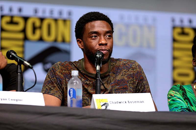 Actor Chadwick Boseman died of colon cancer in 2020.