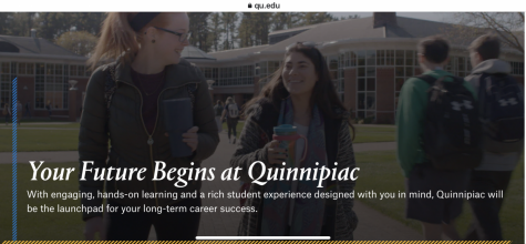 Quinnipiac gears its website to community members