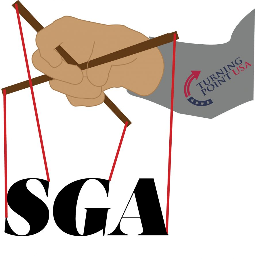 Turning Point USA trying to influence SGA elections