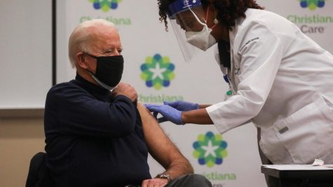 After urging Americans to receive the COVID-19 vaccine, President Joe Biden was vaccinated on live television.