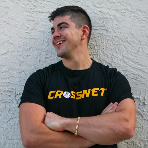 Quinnipiac alum, Chris Meade, founded Crossnet, a popular outdoor sports game.