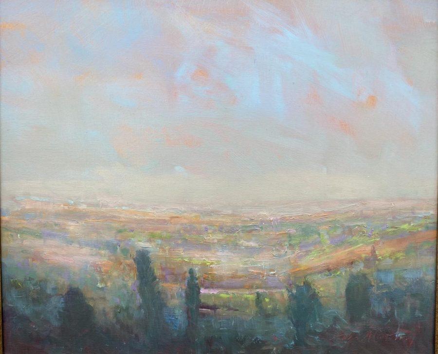 Painter William McCarthy has seen the world but still notices beauty in Hamden