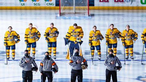"""We got some big individual efforts in some big moments, Quinnipiac womens ice hockey head coach Cass Turner said."