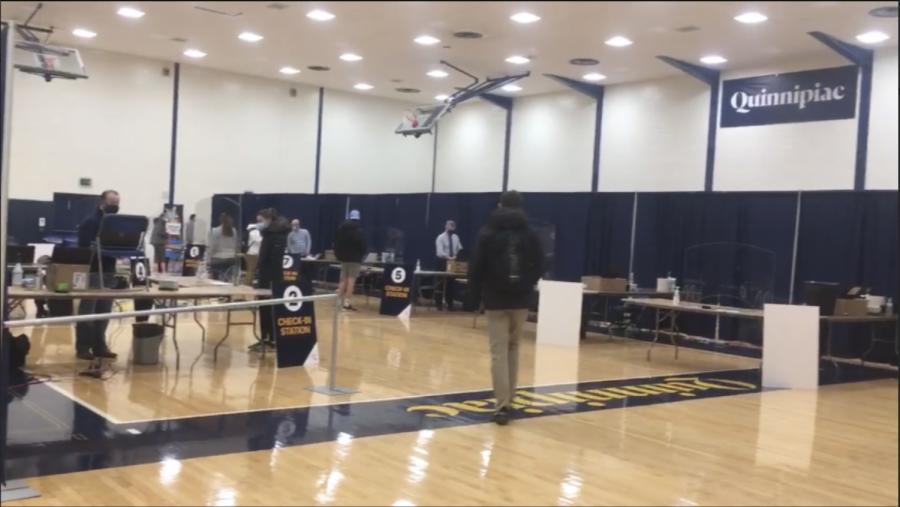 Remember that testing center at Burt Kahn Court is run by volunteers.