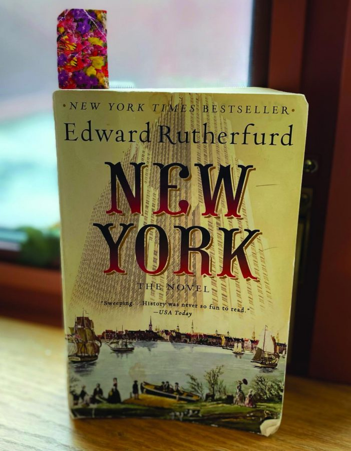 Edward Rutherfurd's comprehensive chronology of New York translates history into the stories of real people