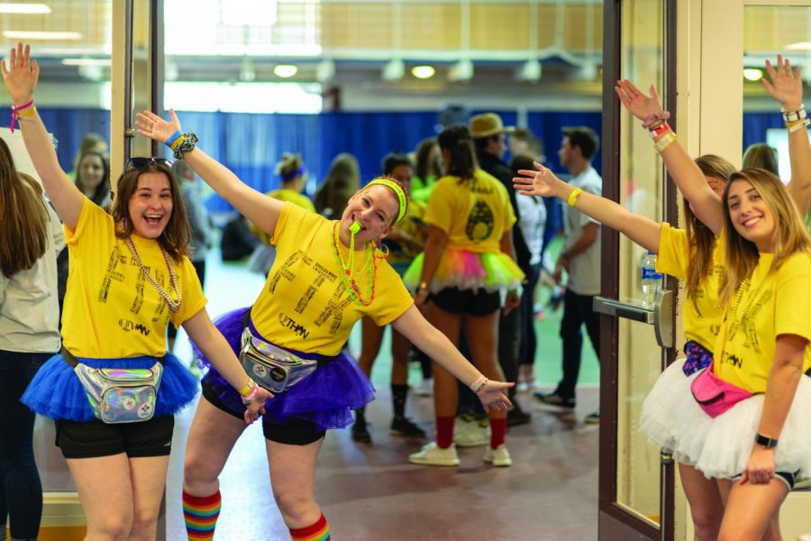 QTHON is a fundraising organization for Connecticut Children's Medical Center that consists of in-person activities such a dance marathon.