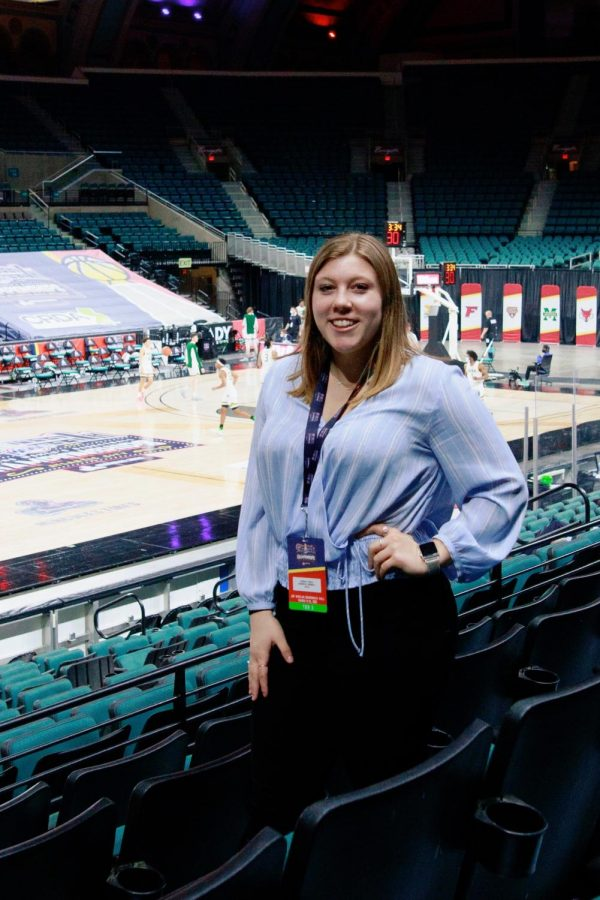Photography editor Morgan Tencza has attended the MAAC tournament every year since 2018.