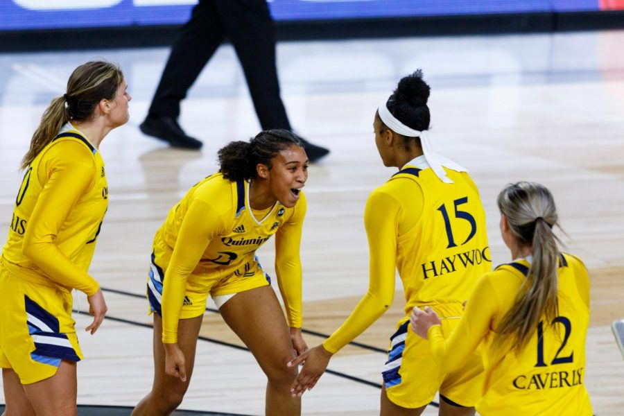 The Quinnipiac women's basketball team was the No. 2 seed at the MAAC tournament this year.