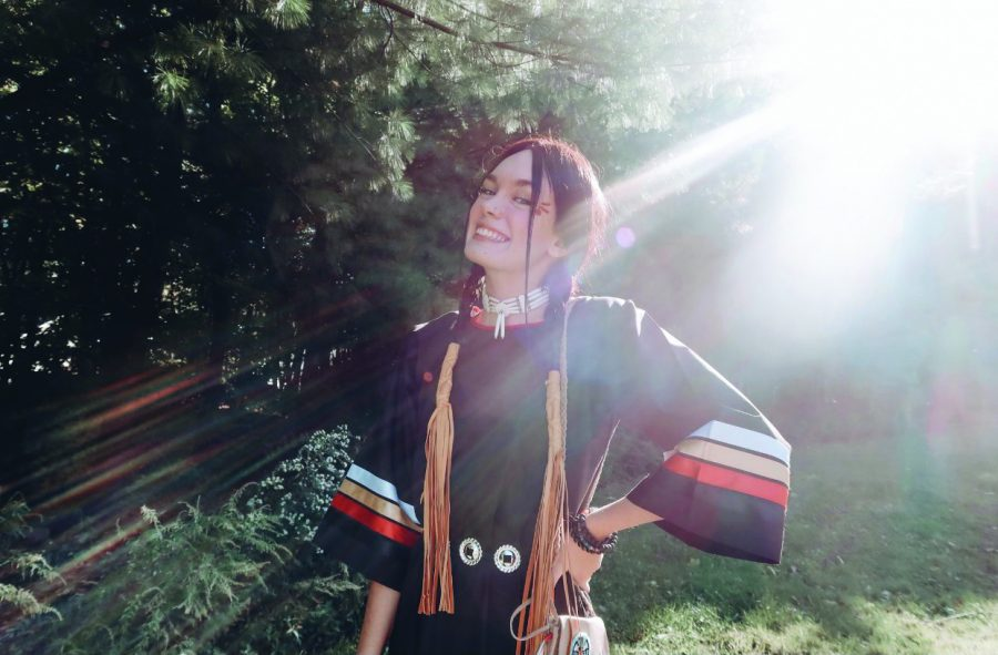 Kiara Tantaquidgeon is the president of the Indigenous Student Union and is a member of the Mohegan Tribe.