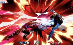 Quinnipiac Super Smash Bros. Ultimate player Bakko finishing a Marist player in the MAAC semifinals.