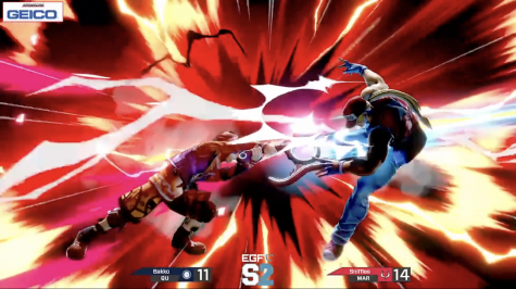 "Quinnipiac Super Smash Bros. Ultimate player ""Bakko"" finishing a Marist player in the MAAC semifinals."