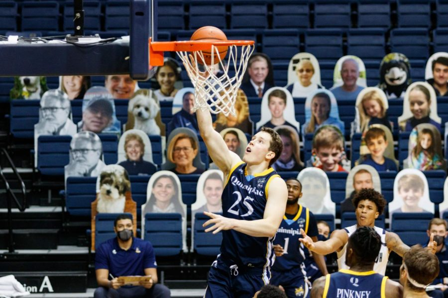 The Quinnipiac men's basketball team is slated to begin the 2021 MAAC tournament as the No. 8 seed.
