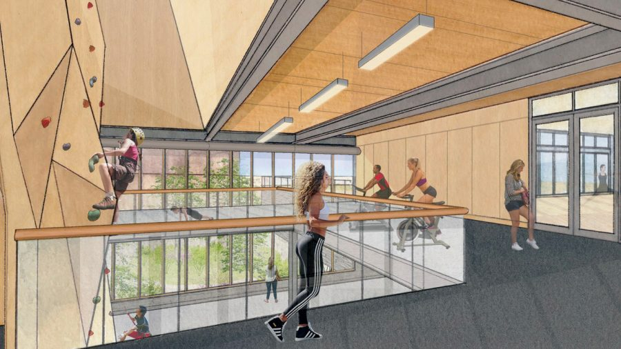 The new health and wellness center that will be completed by fall 2022 is going to be focused on alternate ways to be healthy.