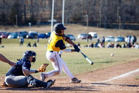 Graduet student outfielder Andre Marrero went 8 for 16 with six RBIs in four games against Siena.