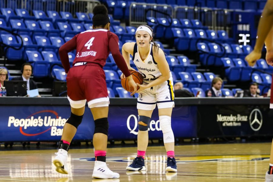Junior guard Mackenzie DeWees was named MAAC Player of the Year in 2021.