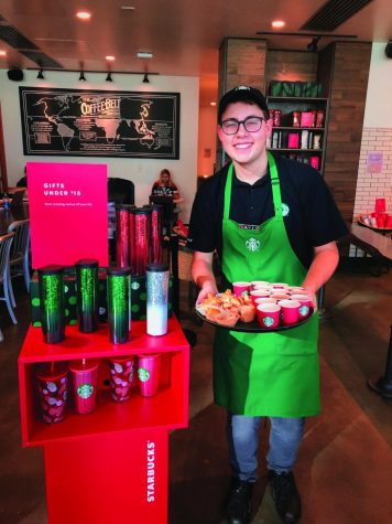David Ferrara used to work as a barista in a Starbucks at Clemson University.