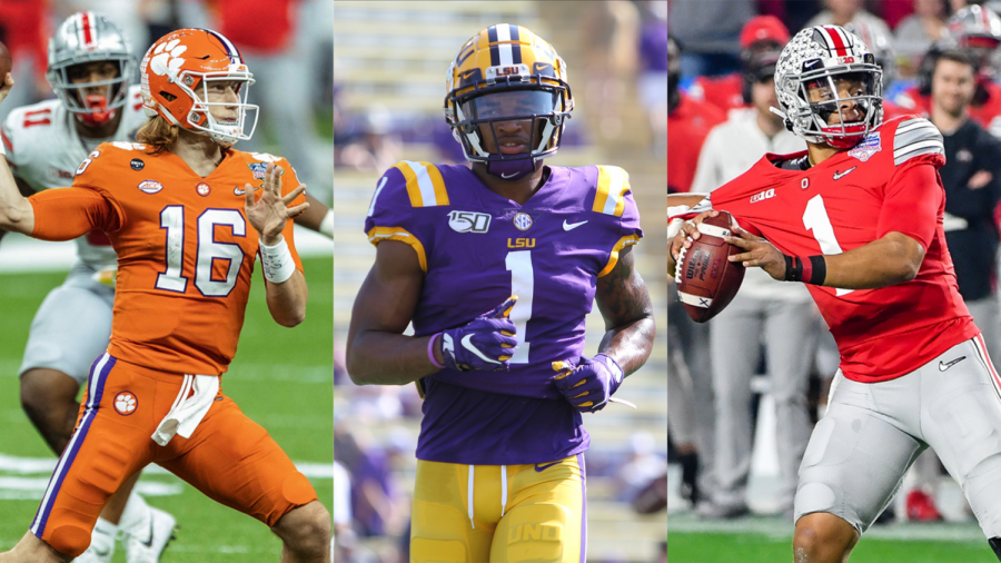 The Chronicle's 2021 NFL mock draft: Eagles surprise with quarterback, Waddle taken over Smith