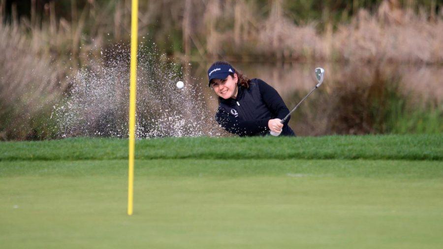Senior golfer Elena Ybarra averaged an 80.5 per round in her last full year of play.