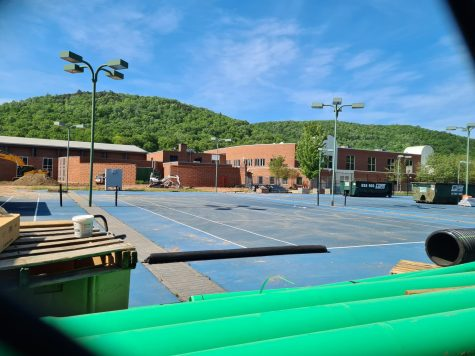 Quinnipiac University plans to relocate its tennis courts to east side of North Lot by the beginning of fall 2021 semester.