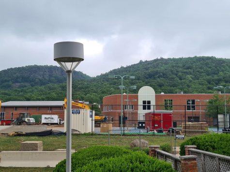 Quinnipiac University seeks an approval to install eight 50-foot light poles in the area where the zoning regulation permits a maximum height of 35 feet.