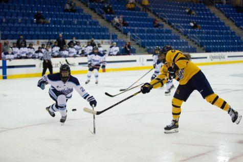 Junior forward Alexa Hoskin was one of three goalscorers in Quinnipiacs 3-2 win over Maine.