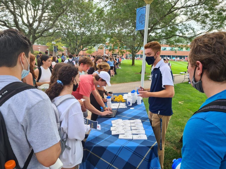 Over 110 organizations took part in this years involvement fair on Sept. 8.