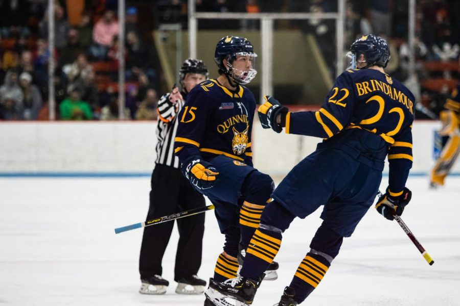 The Quinnipiac mens ice hockey team will play three nationally-ranked out-of-conference teams within its first 12 games of the season.
