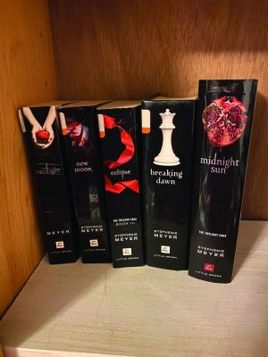 There are five books in the Twilight saga, published from 2005 to 2020. (Betsy Pelletier)