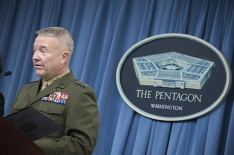 """On Sept. 17, Lt. Gen. Kenneth F. McKenzie said the U.S. military had an """"earnest belief"""" that the Aug. 29 drone strike would stop an imminent threat. (Photo by Dominique A. Pineiro/Wikimedia Commons)"""